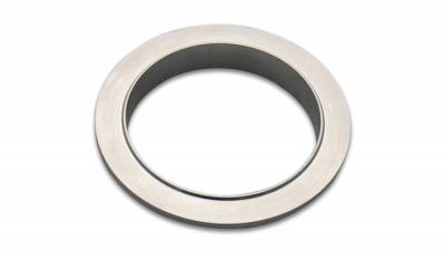 "V-Band Flanges and Clamps - Aluminum V-Band Flanges - Vibrant Performance - Vibrant Performance 11493M - 6061 Aluminum Male V-Band Flange, For 4"" OD Tubing"