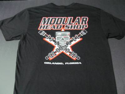 Excessive Motorsports  - Modular Head Shop Men's Skull T-Shirt - Image 2
