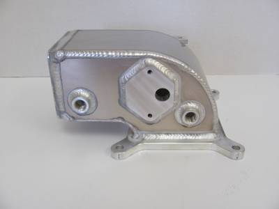 Intake & Components - Throttle Bodies & Plenums - Modular Head Shop - 6061 Custom Elbow For Edelbrock Victor Jr
