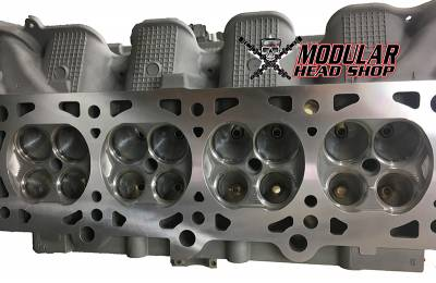Cylinder Heads - 4V Heads - Modular Head Shop - 4.6L / 5.4L 4V Stage 4 Competition CNC Porting Package