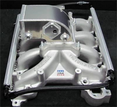 Intake & Components - 4.6L 2V Edelbrock Victor Jr Kits and Parts  - Modular Head Shop - MHS Edelbrock 4.6L 2V 75mm Intake Manifold Combo - 1999 - 2004