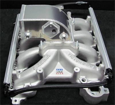 Intake & Components - 4.6L 2V Edelbrock Victor Jr Kits and Parts  - Modular Head Shop - MHS Edelbrock 4.6L 2V 75mm Intake Manifold Combo - 1999 - 2004
