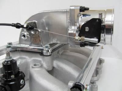 Modular Head Shop - 90mm Elbow / Throttle Body Combo for 2V Edelbrock Victor Jr. - Image 4