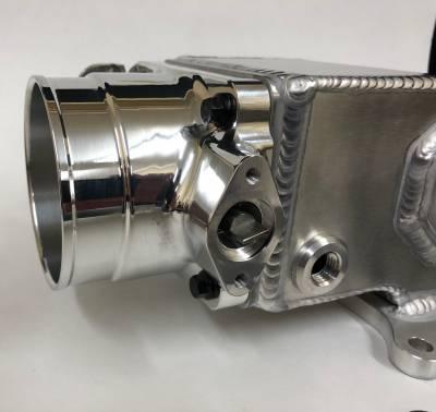 Modular Head Shop - 75mm Elbow / Throttle Body Combo for 2V Edelbrock Victor Jr. - Image 2