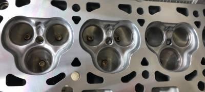 Modular Head Shop - 4.6L / 5.4L 3V Stage 3 CNC Competition Ported Cylinder Head Package - Image 4