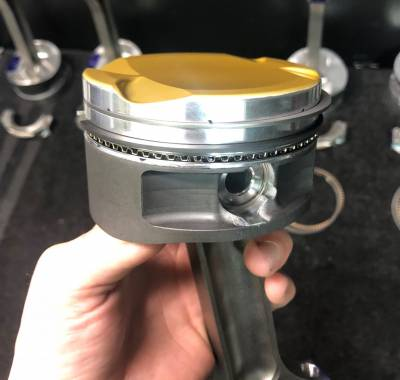 Lateral Gas Ports and optional Ceramic Dome Coating