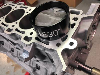 Installing Piston / Rod Assembly
