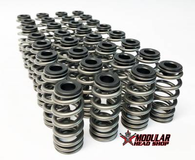 "Valve Train / Timing Components - Valve Springs and Retainers - Modular Head Shop - MHS / PAC RPM Series .600"" Lift 2V PI Stage 3 Valve Springs"