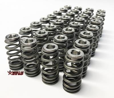 "Valve Train / Timing Components - Valve Springs and Retainers - Modular Head Shop - MHS / PAC RPM Series .500"" Lift Stage 3 4V Valve Springs"