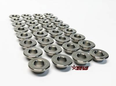 Valve Train / Timing Components - Valve Springs and Retainers - Modular Head Shop - MHS 5.0L Coyote 6AL-4V Titanium Retainers