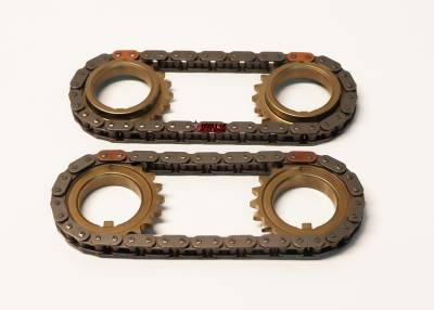 Timing Chains, Sprockets, Guides and Tensioners - 5.4L / 5.8L GT500  - Modular Head Shop - OEM Ford 4.6L / 5.4L 4V Secondary Timing Chain and Sprocket Set