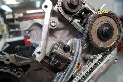 Engine Timing Chain Guide-Stock Left Preferred Components R76089