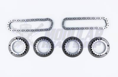 Modular Head Shop - MHS GEN 1 5.0L Coyote Big Chain Competition Billet Secondary Sprocket Kit - Image 2