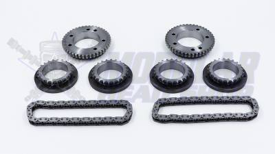 Timing Chains, Sprockets, Guides and Tensioners - 5.0L Coyote - Modular Head Shop - MHS 5.0L GEN 1 Competition Billet Primary and Secondary Sprocket Kit