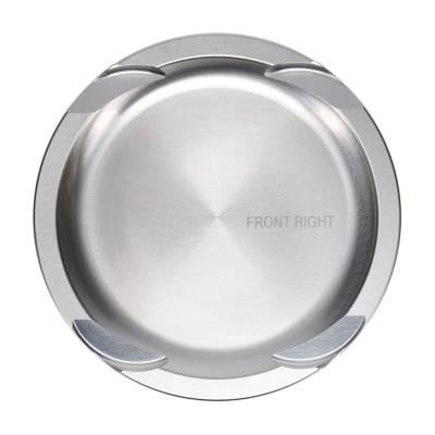 "JE Pistons  - JE Pistons 314418 - Ford 5.0L Coyote FSR Pistons -8.7cc Dish, 3.660"" Bore, 3.650"" Stroke, 5.933"" Rod Length, 1.174"" CD, .866"" Pin - Image 4"