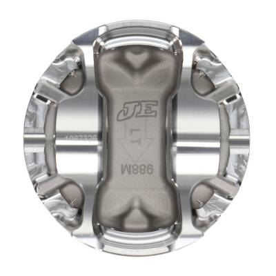 """JE Pistons  - JE Pistons 314569 - Ford 4.6L 2V FSR Pistons -7.6cc Dish, 3.562"""" Bore, 3.543"""" Stroke, 5.933"""" Rod Length, 1.220"""" CD, .866"""" Pin - Image 3"""