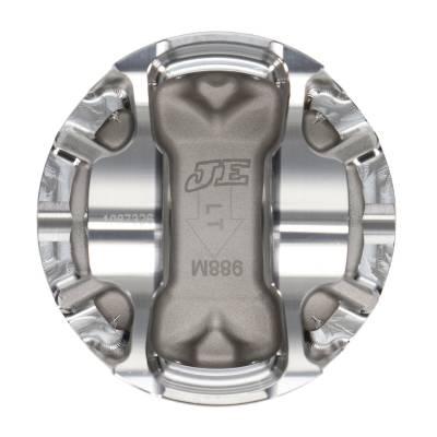 """JE Pistons  - JE Pistons 314577 - Ford 4.6L 2V FSR Pistons -37.3cc Dish, 3.701"""" Bore, 3.750"""" Stroke, 5.850"""" Rod Length, 1.200"""" CD, .866"""" Pin - Image 3"""
